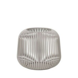Lucerna 20,5 cm Blomus LITO - šedá