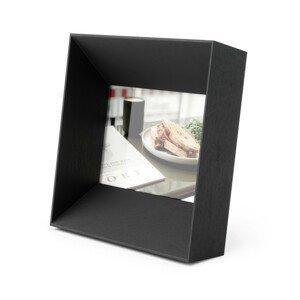 Rámeček na fotografii 10x15 cm Umbra LOOKOUT - černý