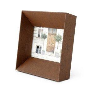 Rámeček na fotografii 10x15 cm Umbra LOOKOUT - ořechový