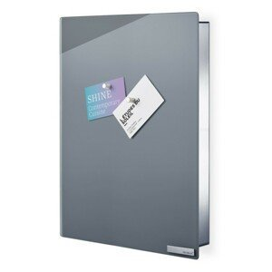 Skříňka na klíče s magnetickými dvířky 40x30 cm Blomus VELIO - šedá