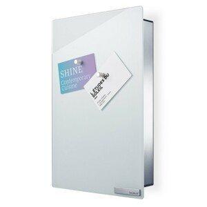 Skříňka na klíče s magnetickými dvířky 30x20 cm Blomus VELIO - bílá