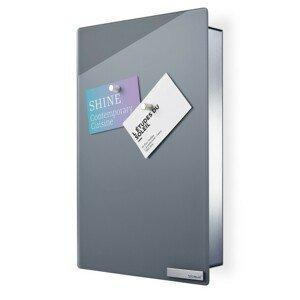 Skříňka na klíče s magnetickými dvířky 30x20 cm Blomus VELIO - šedá