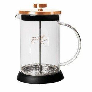 Konvička na čaj a kávu French Press 600 ml Rosegold collection BERLINGERHAUS BH-1494