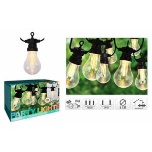 Světelný řetěz LED PARTY venkovní 10 žárovek