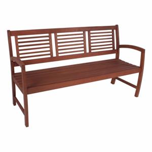 Zahradní lavice z eukalyptového dřeva ADDU Madison