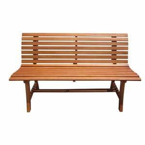 Zahradní lavice z eukalyptového dřeva ADDU Moreno