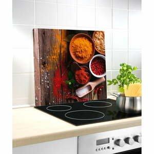Skleněný kryt na sporák Wenko Spice, 50 x 56 cm