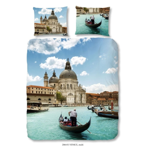Bavlněné povlečení Good Morning Venice, 140 x 200 cm