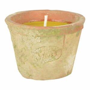 Svíčka s vůní citronely Esschert Design, doba hoření 10 hodin