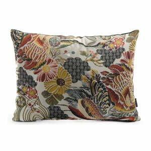Dekorativní polštář s květinovým vzorem s příměsí bavlny House Nordic Alvito, 60x45cm