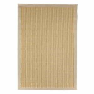 Žlutý venkovní koberec Floorita Chrome, 135 x 190 cm