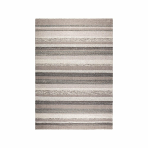 Šedý ručně vyráběný koberec Dutchbone Arizona, 170x240 cm