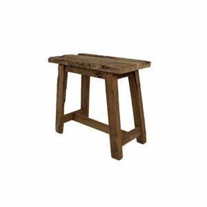 Stolička z teakového dřeva HSM collection Rustical, délka 50 cm