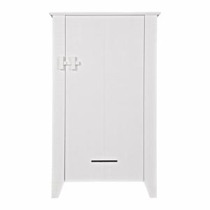 Bílá dřevěná skříňka WOOOD Gijs
