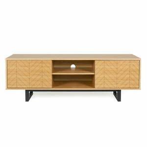 TV stolek v dubovém dekoru Woodman Camden Herringbone