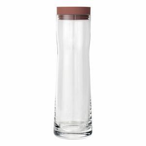Karafa na vodu s červeným víčkem Blomus Splash, 1 l