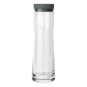 Karafa na vodu s olivově zeleným víčkem Blomus Splash, 1 l