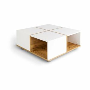 Konferenční stolek z dubového dřeva SKANDICA Korsa