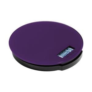 Fialová kuchyňská digitální váha Premier Housewares Zing