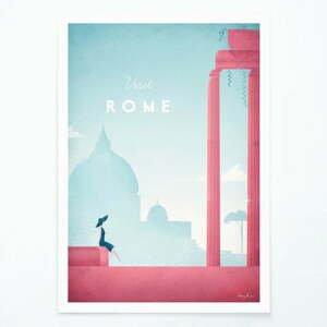Plakát Travelposter Rome, A3