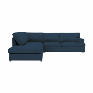 Modrá pohovka Windsor & Co Sofas Daphne, levý roh
