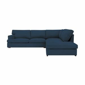 Modrá pohovka Windsor & Co Sofas Daphne, pravý roh