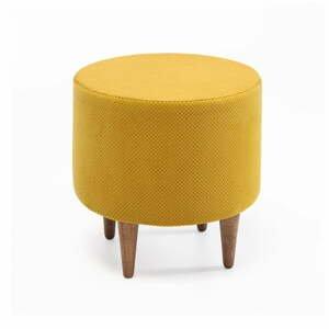 Žlutá podnožka Balcab Home Nora