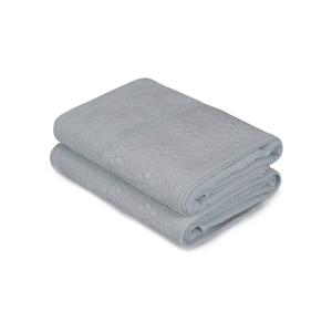 Sada 2 mátově zelených ručníků z čisté bavlny Grande, 50 x 90 cm
