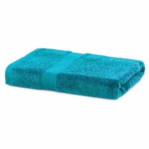 Tyrkysový ručník DecoKing Marina, 70x 140 cm