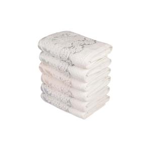 Sada šesti ručníků s ozdovným motivem Madame Coco Baroque, 90x50cm