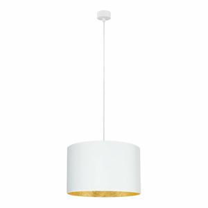 Bílé stropní svítidlo s vnitřkem ve zlaté barvě Sotto Luce Mika, ⌀40cm