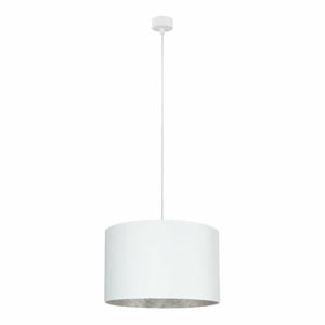 Bílé stropní svítidlo s vnitřkem ve stříbrné barvě Sotto Luce Mika, ⌀40cm