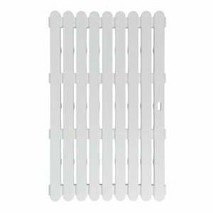 Bílá předložka vhodná i do exteriéru Wenko Outdoor White , 80x50cm