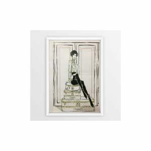 Nástěnný obraz v rámu Piacenza Art Chanel Suitcase, 23 x 33 cm