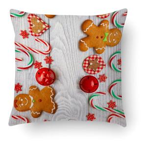 Polštář Crido Consulting Sweet Christmas, 40 x 40 cm