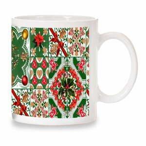 Hrnek Crido Consulting Christmas Mosaic, 300ml
