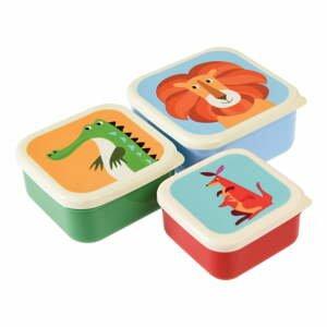 Sada 3 svačinových boxů Rex London Creatures