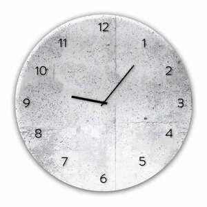 Nástěnné hodiny Styler Glassclock Wall, ⌀ 30 cm