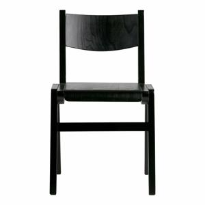 Černá jídelní židle BePureHome Academy