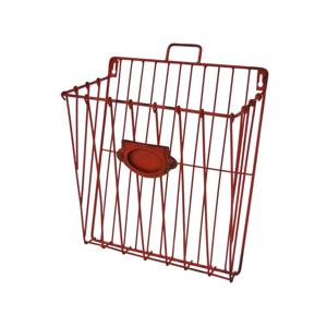 Červený nástěnný košík Antic Line Numérote