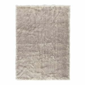 Hnědý koberec z umělé kožešiny Mint Rugs Soft, 120 x 170 cm