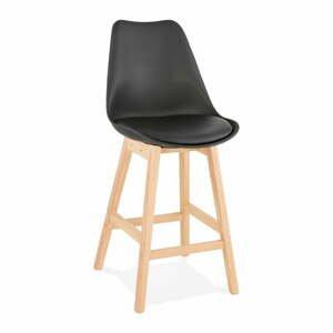 Černá barová židle Kokoon April