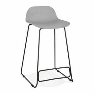 Šedá barová židle Kokoon Slade, výška85cm