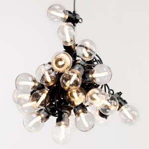 LED světelný řetěz DecoKing Basic Bulb, 10 světýlek,délka8m