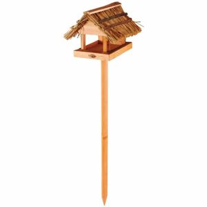 Zapichovací krmítko pro ptáčky z jedlového dřeva a rákosu Esschert Design Sweetie