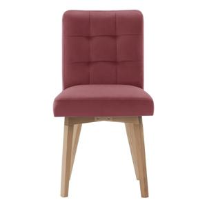 Růžová jídelní židle Rodier Haring