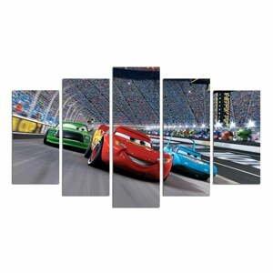 5dílný obraz Cars