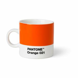 Oranžový hrnek Pantone Espresso, 120 ml