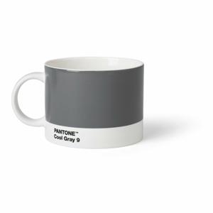 Šedý hrnek na čaj Pantone, 475 ml