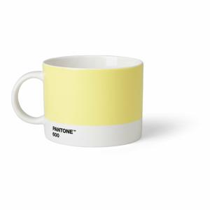 Světle žlutý hrnek na čaj Pantone, 475 ml